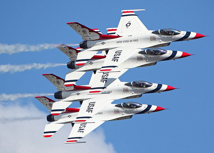 Image result for us thunderbirds air show